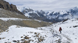 Annapurna Trek, Descent from Thorung La - by Henk