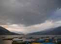 Pokhara, Lake Phewa - by Henk