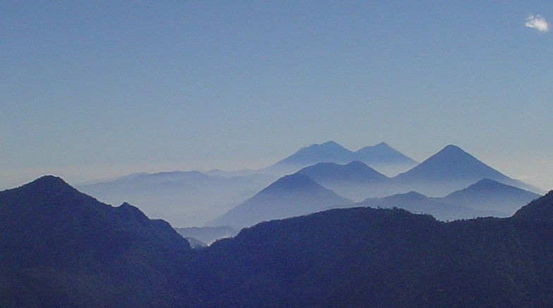 Several volcanoes in the Sierra Madre are currently active, including ...