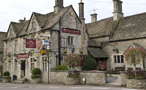Cotswold Way, Rose & Crown Inn, Nympsfield