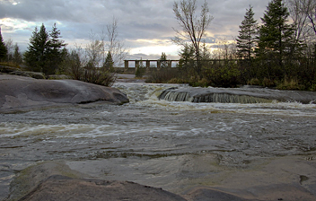 how to avoid water trails in the trans canada trail
