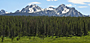 Sawtooth Mountains - by Lynn