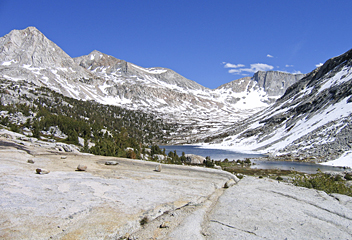 Palisade Lakes, Mather Pass - by Kelly