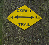 Corfu Trail Shield