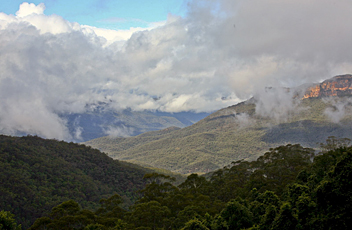 Three Peaks Bushwalk: Blue Mountains NP - by Naar